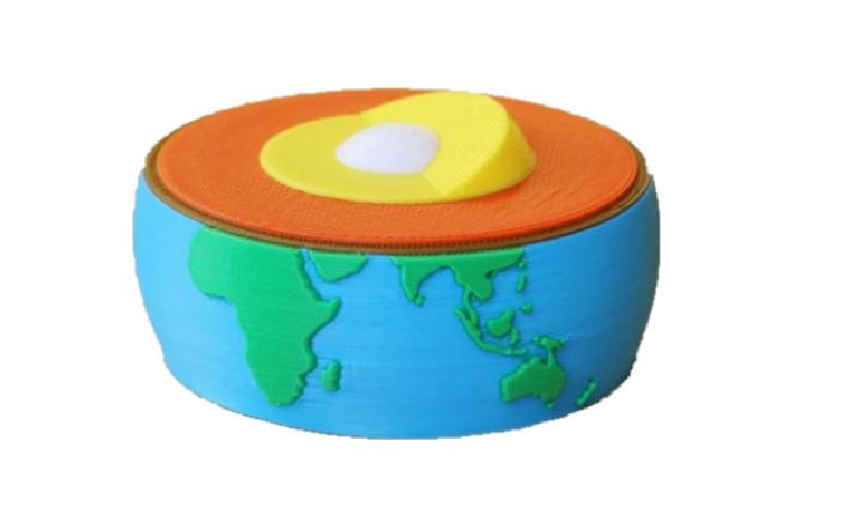 Model řezu Země