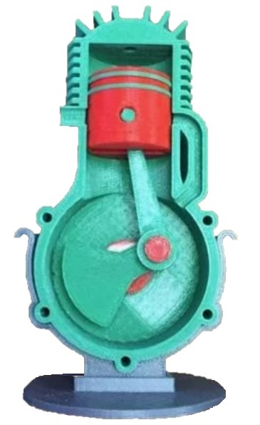Dvoudobý motor