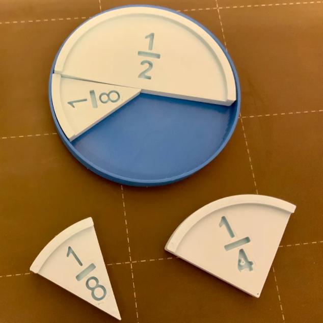 Skládání zlomků – kruhová výseč